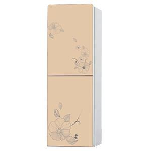 China R600a refrigerant hot and cold water cooler CE certification perfect curved glass panel bottled water dispenser on sale