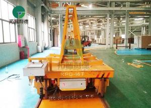 China 16 Ton Heavy Duty Material Handling Electric Transport Cart For Marble Slab on sale