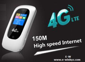 China OEM 4G LTE TDD FDD Router 100Mbps DL high speed 3G 4G wifi router with sim card slot on sale