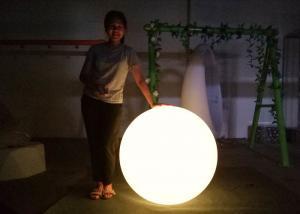 China DMX Wireless Decorative Garden Glow Balls Lights Outdoor 80cm / 100cm Diameter on sale