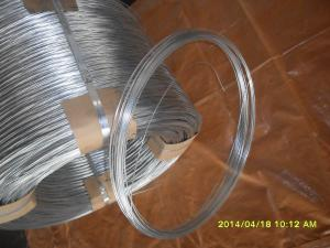 China 17# hot galvanized steel wire on sale