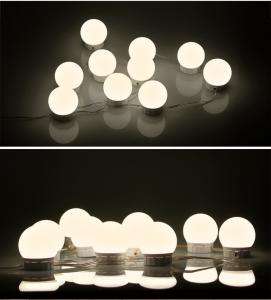 China Hollywood Style Led Light Bulbs For Vanity Mirror Beautiful Style on sale