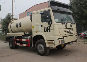China Sanitation Enterprise Sewage Suction Truck 8-12CBM LHD 4X2 , Liquid Waste Trucks on sale