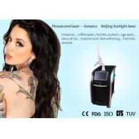 Salon / Clinic Picosecond Laser Tattoo Removal Machine For Acne Scar Treatment