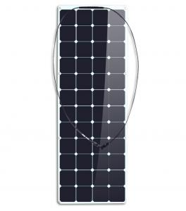 China Customized ETFE Sunpower Thin Film Pv Solar Panels Portable 100w 5 Years Warranty on sale