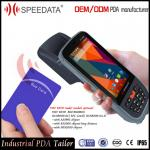 Rugged Mobile PDA Android Rfid Handheld Readers with 900Mhz Modules