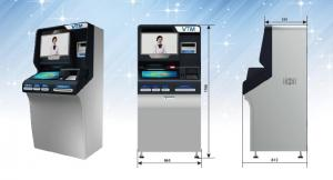 China The 3rd Generation Banking Kiosk Self Service Smart Video Teller Kiosk ZT2980 on sale