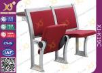 No apoyabrazos multi - asiento de la sala de conferencias de la madera contrachapada de la capa con el tablero incombustible
