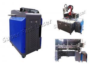 China 110V 220V 100W Pulse Width Adjustable Laser Rust Cleaner on sale