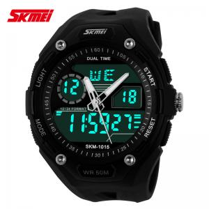 China Multi Time Zone Analog Digital Wrist Watch With Japanese Battery on sale