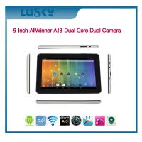 China Newest 9 Inch Allwinner A23 Dual Core Android tablet pc 512MB/8GB Capacitive Screen with WIFI and dual camera on sale