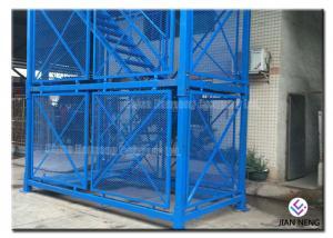 China High Bridge Pier Scaffolding Safety Construction Steel Step Ladder Cage 3m*2m*2m on sale