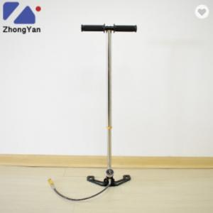 China 3 Stage 4500 PSI 300 Bar High Pressure Hand Air Pump For PCP Airgun on sale