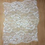 30cm  wide 2017  New Fashion  Lace Border/ underwear cotton lace edge in Ivory Color