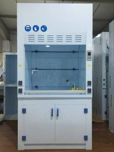 China Biology Lab Equipment Ductless PP Fume Hood For One Person , Corrosion Resistance on sale