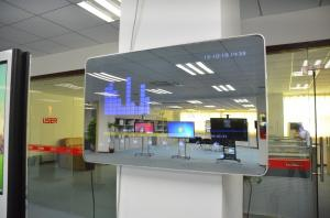 China Wall Mounting Interactive Digital Signage With Magic Mirror Motion Sensor on sale