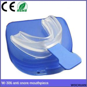 China soft safe material silicone sleep aid mouth guard anti snore stop snoring mouthpiece on sale