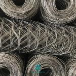 Hexagonal Wire Mesh Fence Rolls Galvanized Mesh Roll For Stone Cage 2 X 1 X 1m