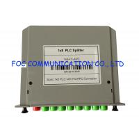 FC / APC Low Loss Splitter, Passive Rack Mount PLC Splitter Cassette Box Type