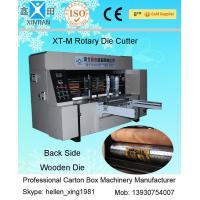 High Speed Printing Rotary Die-Cutting Machine , Auto Carton Box Packing Machine