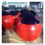 qualidade A38 do tipo do luxiang a melhor, boia de flutuação do marcador do pvc do redcolor de A29CM inflável