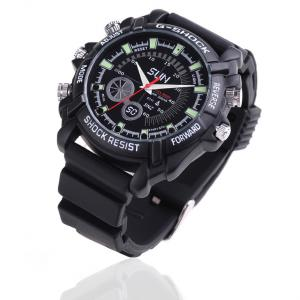 China 2.0 Mega Pixels CCTV 1080P HD Waterproof Pinhole Watch Hidden Camera With 4GB Flash Memory on sale