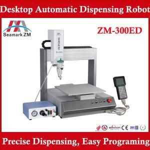 China SMT solder paste dispenser machine ZM-300ED glue dispensing robot on sale