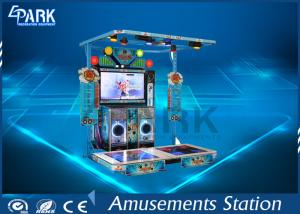 China Fashion Design Arcade Dance Machine Stereo System Supported Later Upgrade on sale