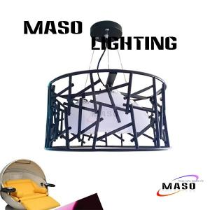 China MASO NEW Product Three Lamp LED Light Source Iron Material Pendant Light Fixture MS-I6026 on sale