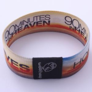 China Beautiful Different Color Custom Wrist Band For Club / Bar / Concert on sale