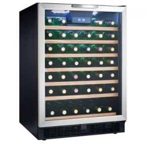 China Dual-zone 8 bottle wine cooler on sale