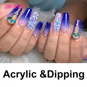 China Make nail extension dip powder set dipping nail system provide label nail acrylic powder on sale