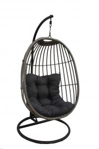 China quality swing chairs outdoor furniture metal furniture factory on sale