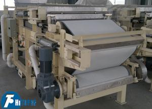 China Advanced High Pressure Belt Filter Press For Wastewater Treatment Continuous Operated on sale