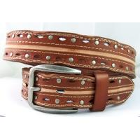 western style wrapy real leather belts for men