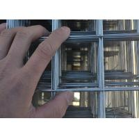2x2 Woven Construction Welded Wire Mesh Panels Galvanized Steel Hot Dips PVC Coated