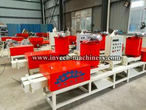 China Wooden pallet block making machine/Sawdust Hot Press Extruder on sale