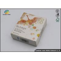 BB Cream Cosmetic Packaging Boxes with Insert Tray / Offset Printing