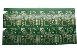 China Electronic battery charger HDI PCB board 6-Layer , FR4 base Min. Line 3 mil on sale
