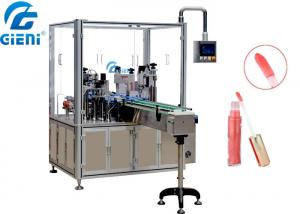 China Liquid Paste Material Cosmetic Filling Machine For Lip Gloss 1 - 100ml Filling Volume on sale