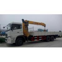 245hp Mobile Truck Mounted Crane Truck Loader Crane Lifting Capacity 12 Ton