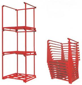 China Pallet Stacking Rack Movable Rack Stacking Frames Mobile Racking on sale