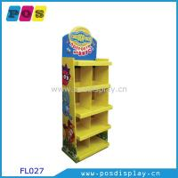 China plush toys corrugated POP display stand for retail-FL027 on sale