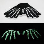 Noctilucent Skeleton Winter Touchscreen Winter Gloves Hand Skull Warm Mitten