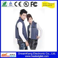 China 2014 hot selling winter electric heated vest on sale