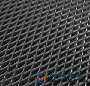 China Small Hole Expanded Metal Mesh, LWDxSWD: 4x2mm, Thickness: 0.2-0.4mm on sale