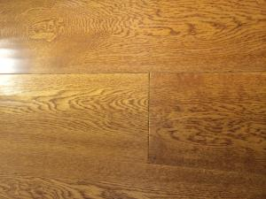 China oak golden wheat engineered floorboard on sale