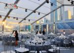 Convidado exterior impermeável da grande capacidade 300 das barracas do evento transparente