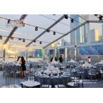China Waterproof Outdoor Event Tents Large Capacity 300 Guest Transparent wholesale