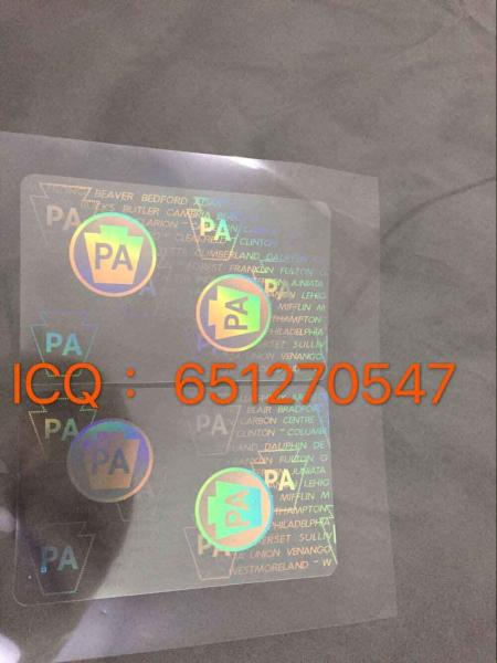 Pennsylvania Manufacturer – State From New Pa License Hologram Sale Driver Overlay China For 107418515 Id